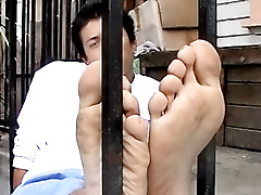 jordan kane solo amateur outdoors foot fetish brown hair short young