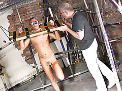 sebastian kane kenzie mitch blowjob bondage fetish domination masturbation twinks deep throat brown hair shaved uncut average dick short young jerked lube play location british blindfold rope edging grey