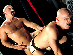 flogging bdsm jock strap leather play