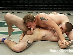wrestling nude wrestle fight combat