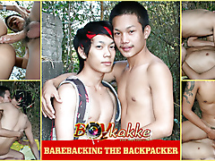 barebacking backpacker
