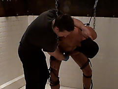 wetroom mask restraints chains impact